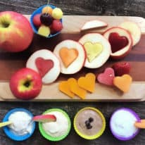 Fun Fruit & Veggie Ideas for Lunchboxes