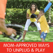Mom Approved Ways to Unplug & Play