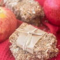 apple pie snack bars pin