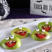 How To Make Halloween Apple Monsters