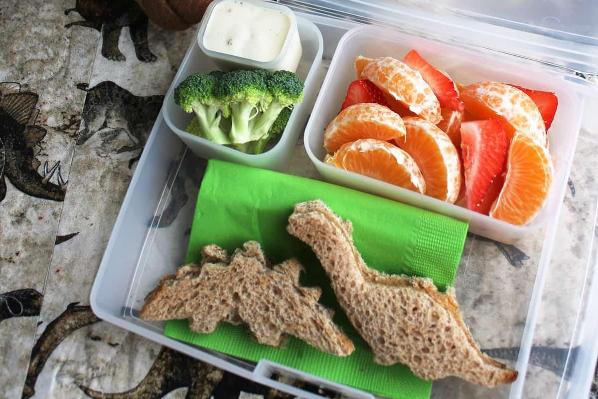 Dinosaur lunch