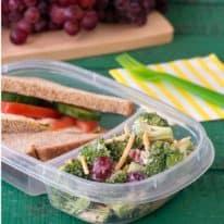 5-Ingredient Broccoli Grape Salad