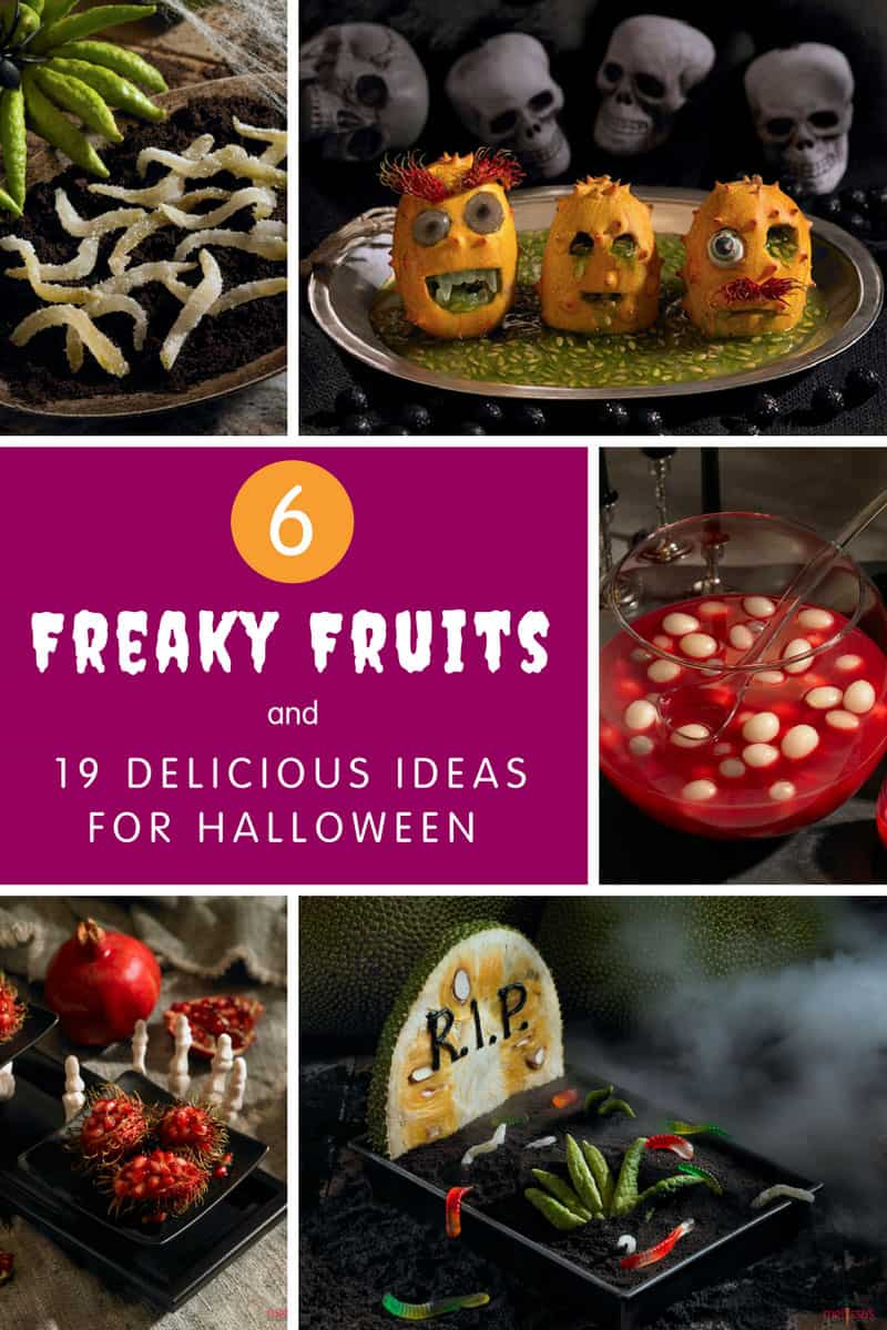 6 Freaky Fruits and 19 Delicious Ideas for Halloween