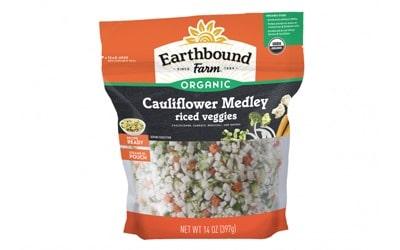 Earthbound Farm® Cauliflower Medleyriced veggies