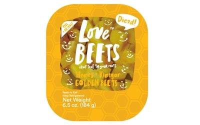 Honey & Vinegar Golden Beets from Love Beets