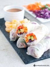 No-Cook Summer Rolls