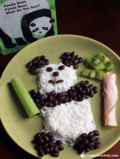 Panda Bear Rice & Beans
