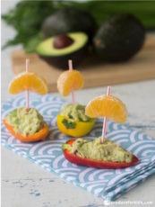 Tuna Salad Stuffed Mini Pepper Boats