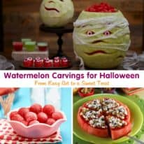Watermelon Carvings for Halloween: From Easy Art to a Sweet Treat