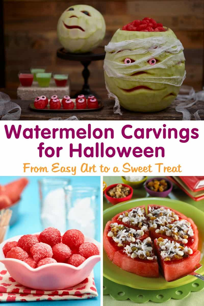 Watermelon carvings for halloween halloween watermelon carving