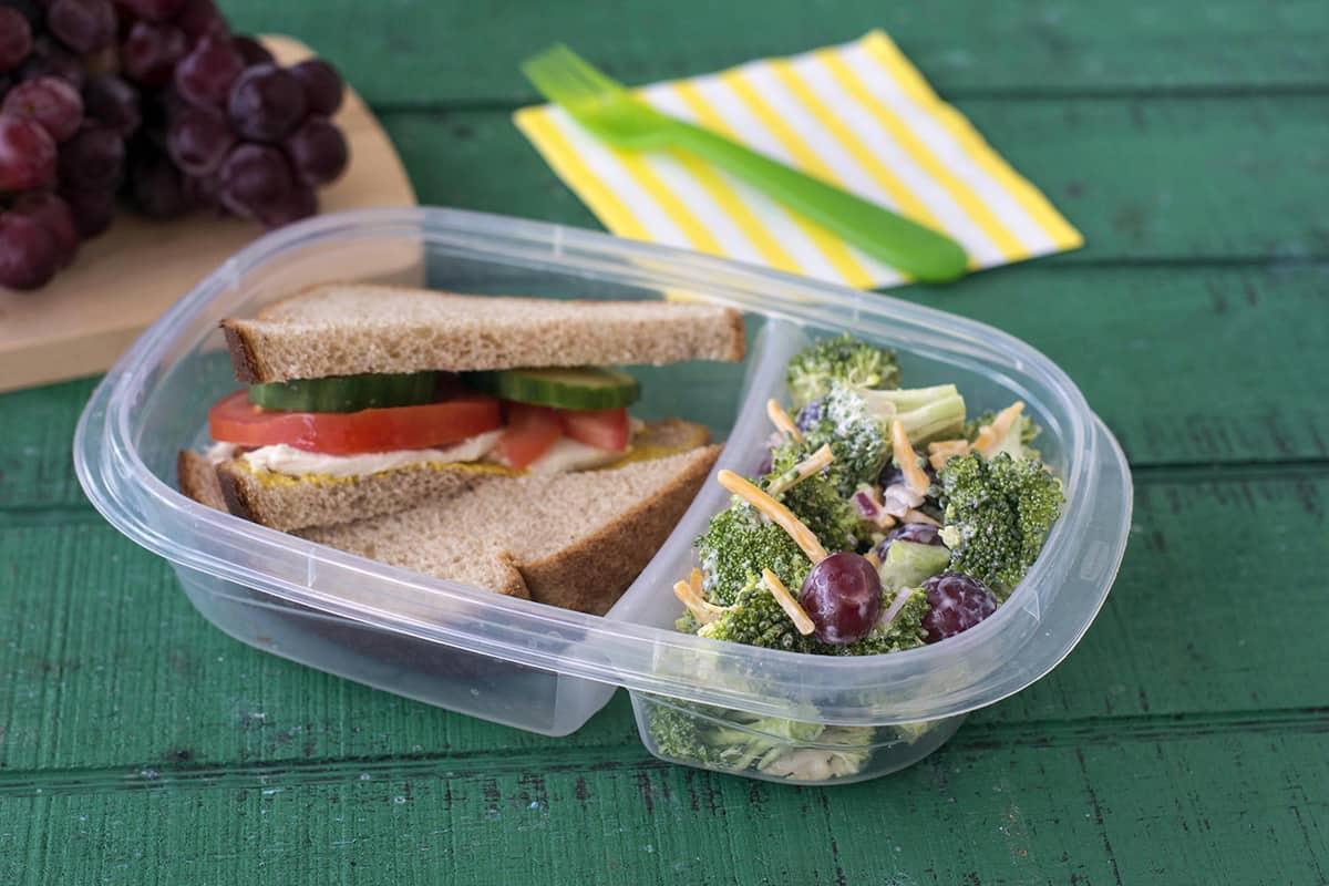 5-ingredient Broccoli Salad