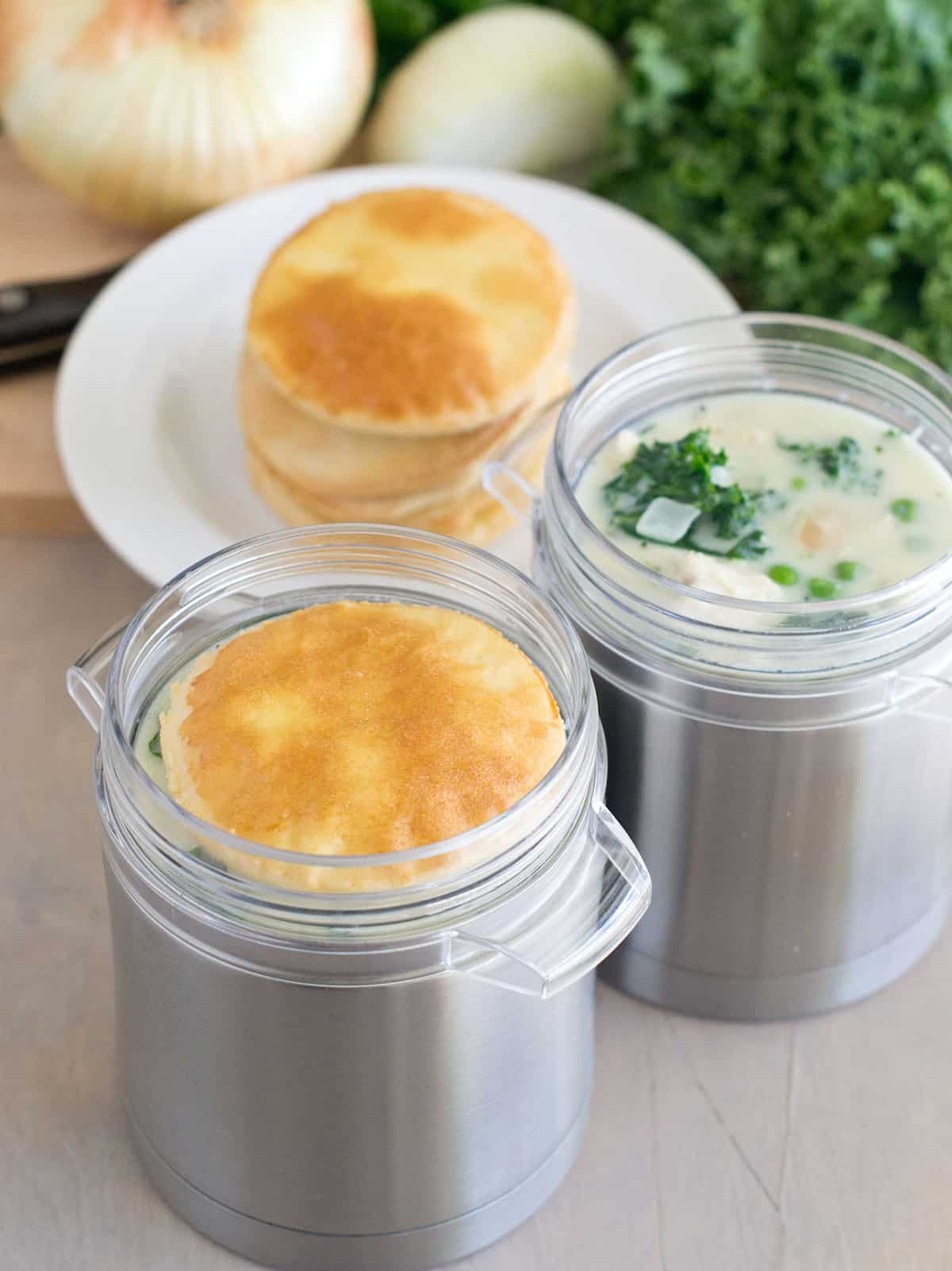 How to make chicken and kale pot pie