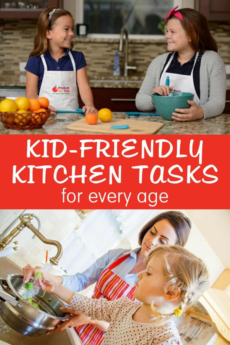 Kid-Friendly Kitchen Tasks for Every Age