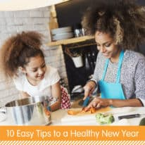 10 Easy Tips to a Healthy New Year
