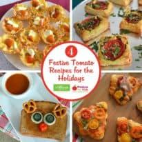 4 Festive Tomato Recipes for the Entire Family