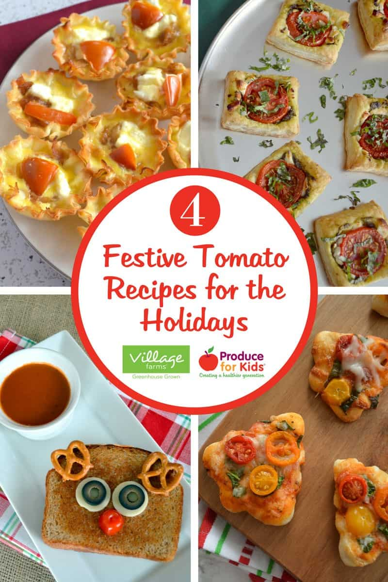 4 Festive Tomato Recipes for the Holidays