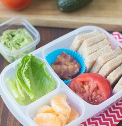 Deconstructed BLT Bento Box
