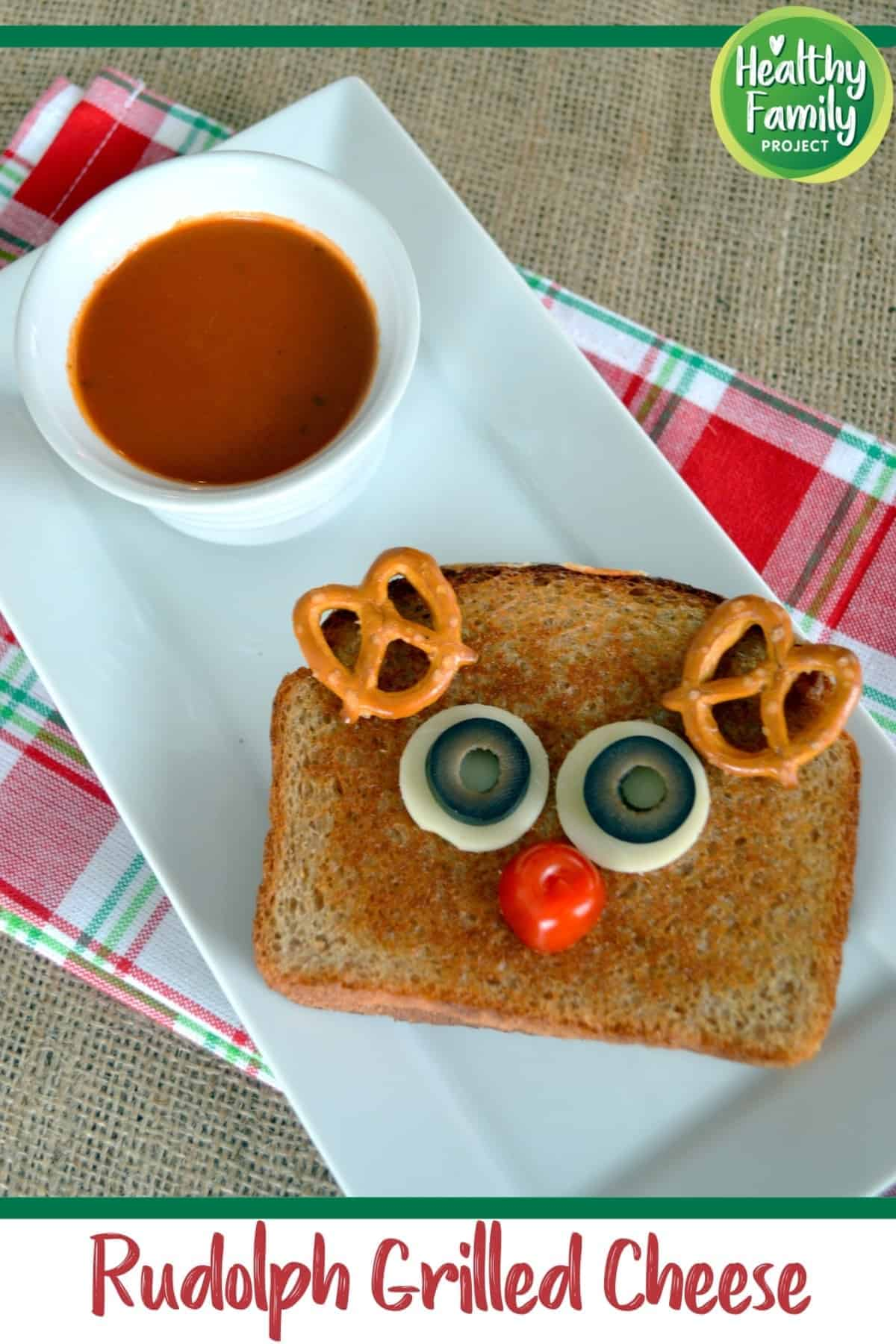Rudolph Grilled Cheese pin