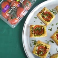 Tomato, Feta & Pesto Puff Pastry
