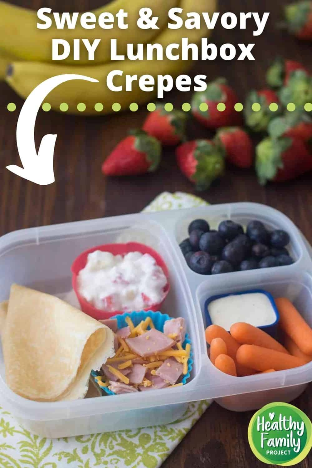 sweet and savory lunchbox crepes pin