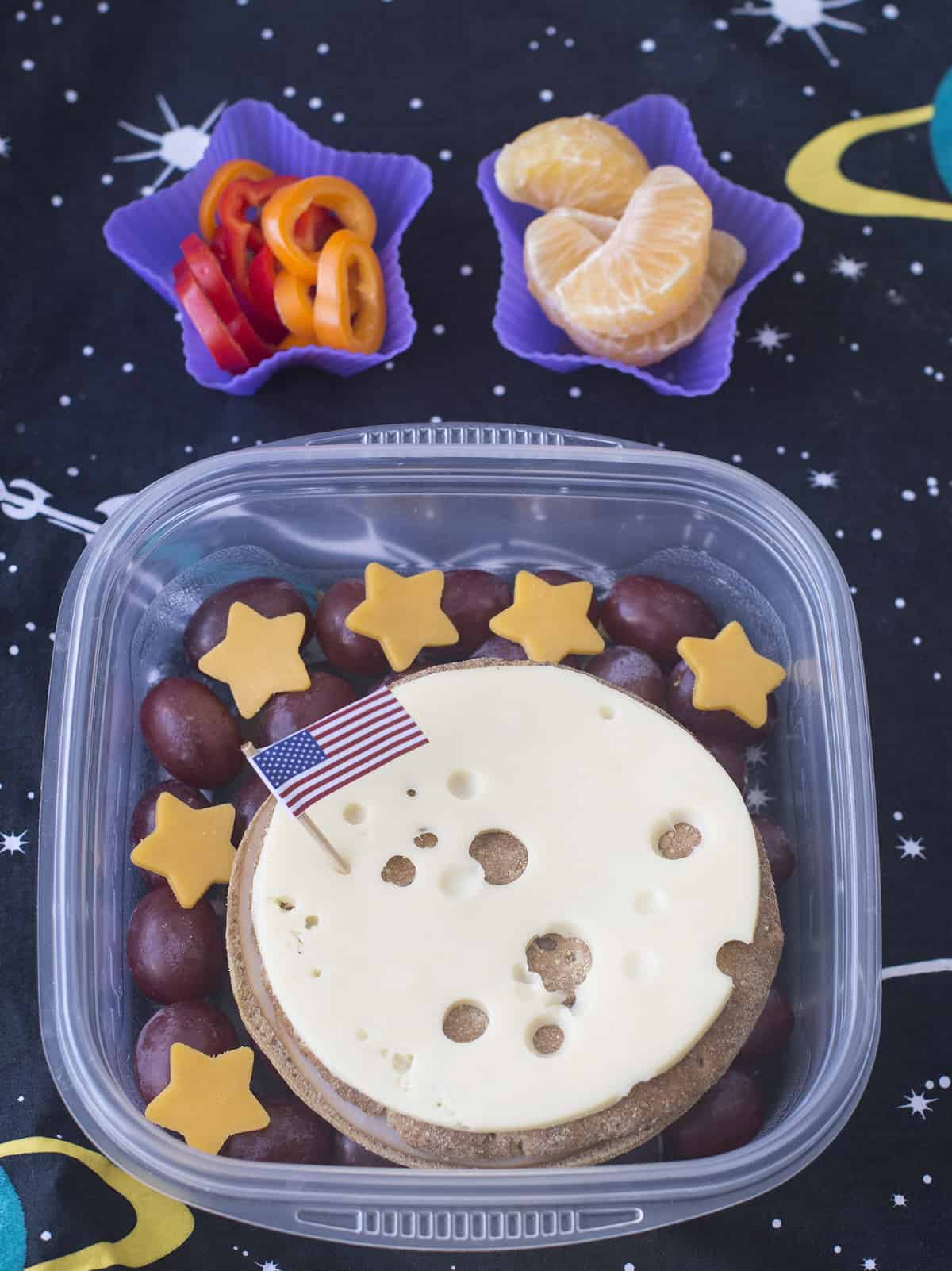 Outer Space themed Bento Box
