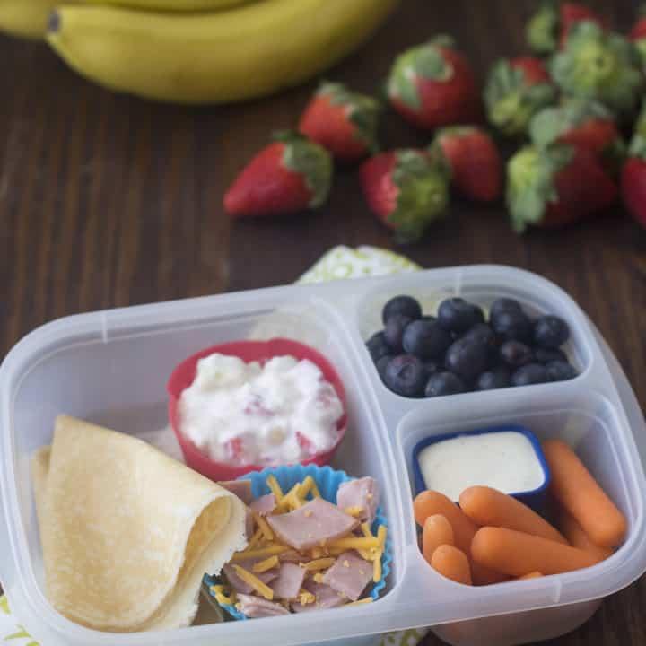 Sweet & Savory DIY Lunchbox Crepes