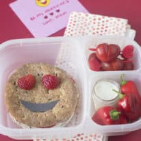 Valentine's Day Emoji Bento Box
