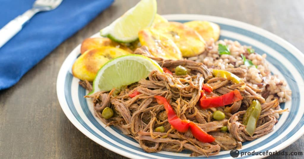 Healthy Slow Cooker Ropa Vieja