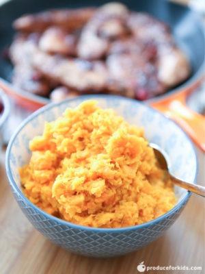 Instant Pot Carrot and Sweet Potato Mash