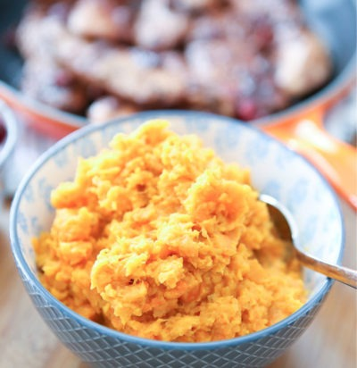 Instant Pot Carrot and Sweet Potato Mash