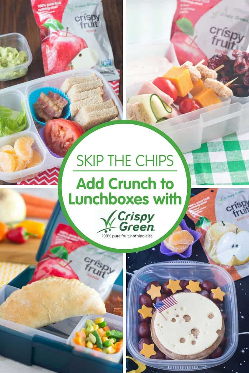 Skip the Chips, Add Crunch to Lunchboxes with Crispy Green