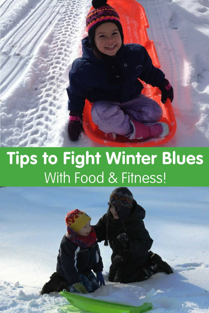 Tips to Fight the Winter Blues with Food and Fitness
