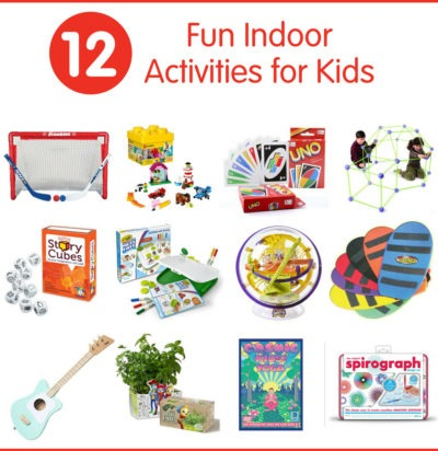 12 Fun Indoor Activities for Kids