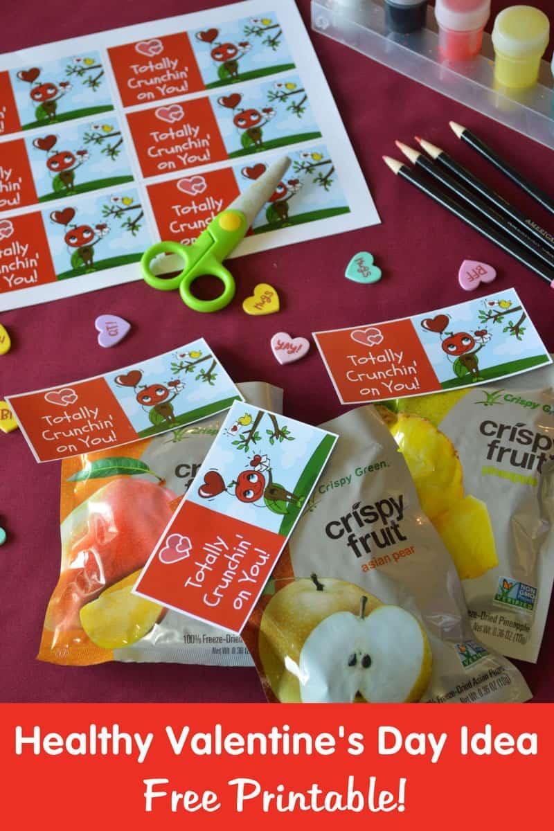 A Healthier Valentine Alternative to Candy + Free Valentine Printable
