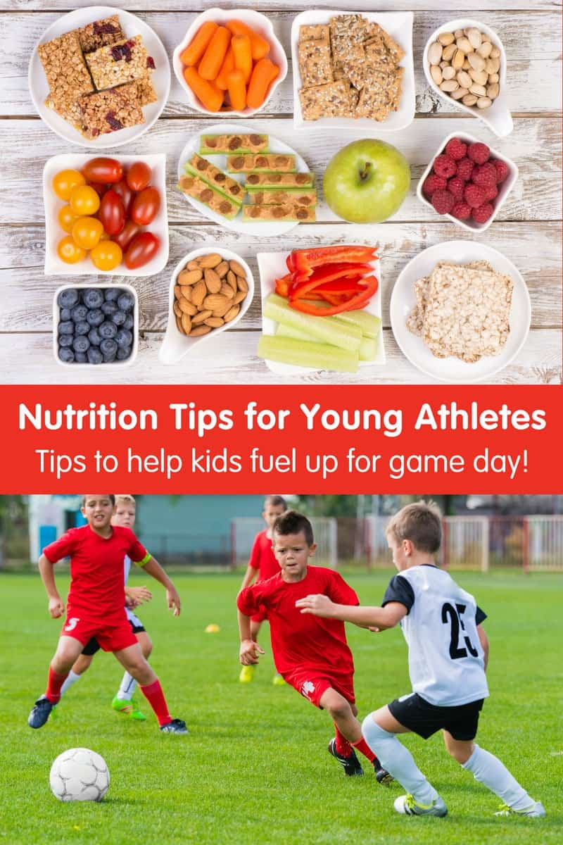Top Nutrition Tips for Young Athletes: How to fuel your little ones for game day!