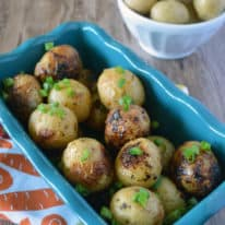 Air Fryer Roasted Ranch Potatoes