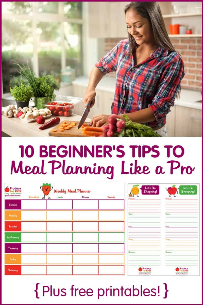 10 Beginner's Tips to Meal Planning Like a Pro - if you're new to meal planning or prepping, check out these 10 tips to get you started.