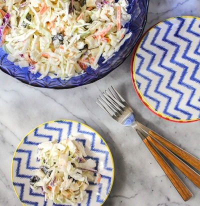 Apple & Dried Cherry Coleslaw