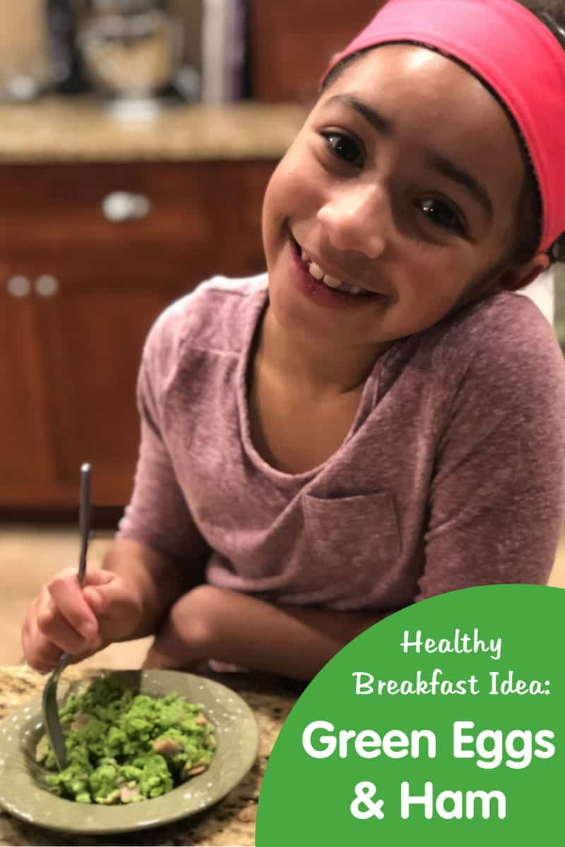 Go Green for Breakfast with Healthy Green Eggs and Ham Recipe