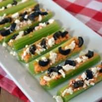 Greek Stuffed Celery