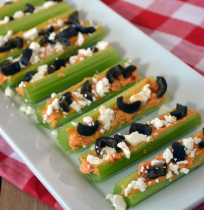 Greek Stuffed Celery