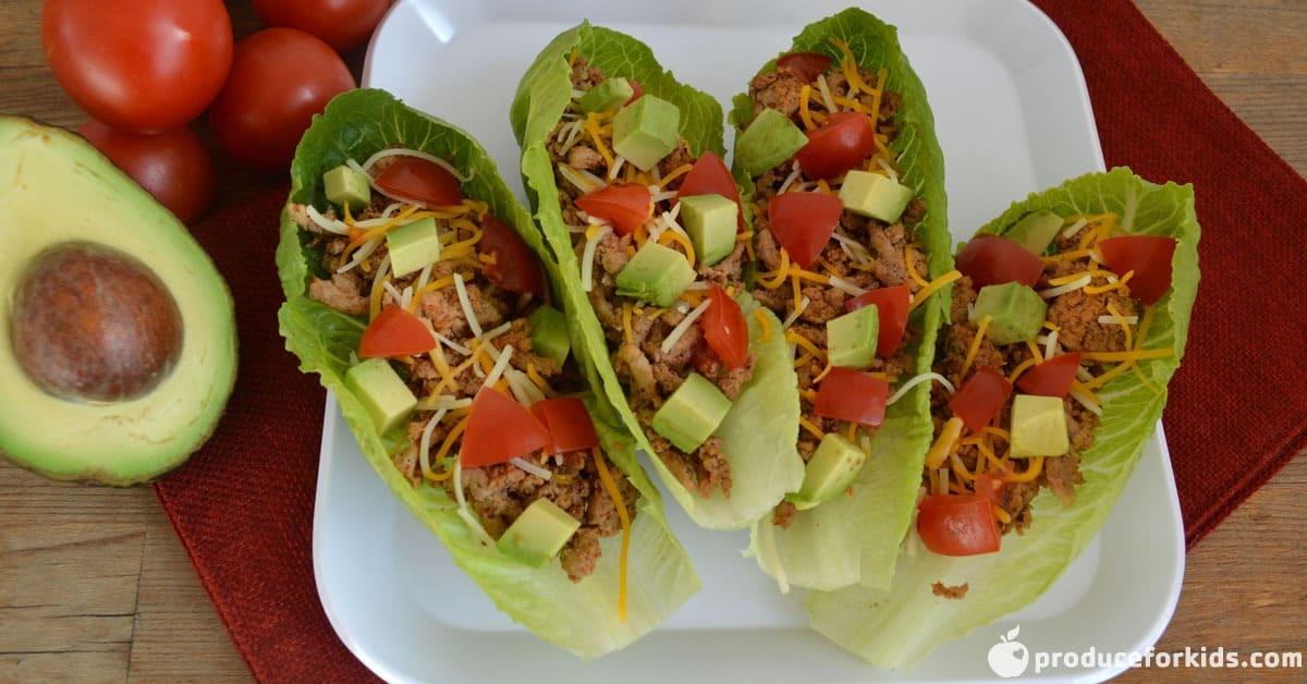 turkey taco lettuce