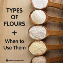 Types of Flour & When to Use Them