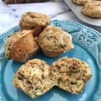 Mini Zucchini Bread Muffins