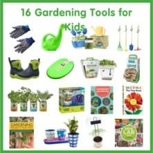 16 Gardening Tools for Kids
