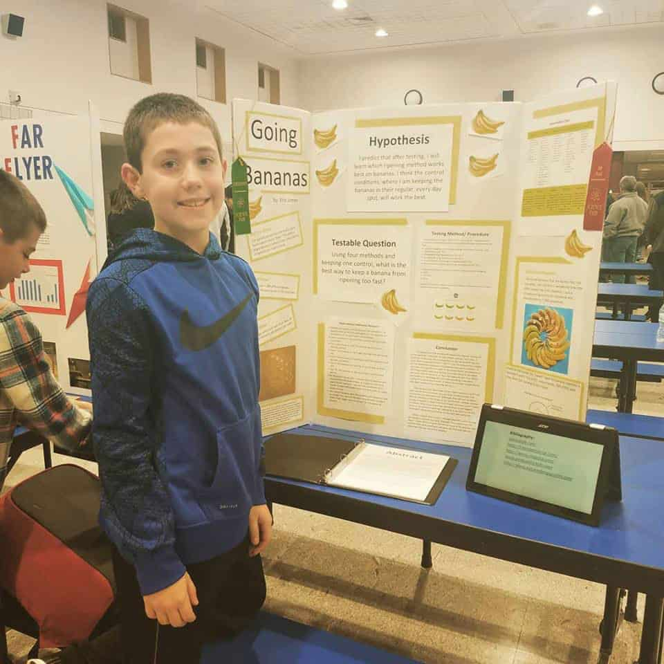 science fair project hockey experiments environment interview saving kj chef yes note mom synthetic