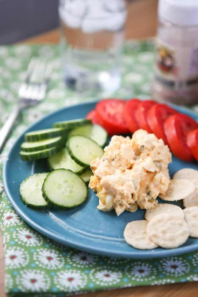 Greek Yogurt Egg Salad with Smoked Paprika from Aggie's Kitchen