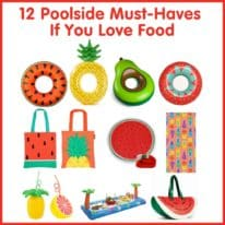 12 Poolside Must-Haves if You Love Food