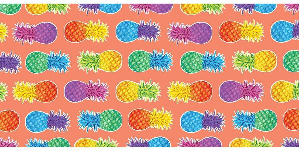 Colorful Pineapple Beack Towel