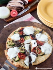 Grilled Summer Vegetable Pizza